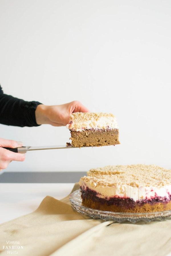 Maroni-Kirsch-Schoko-Torte ganz einfach Nachbacken