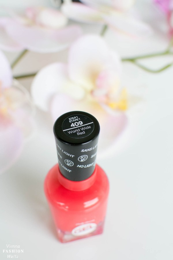 Sally Hansen Nail Care World Wide Red