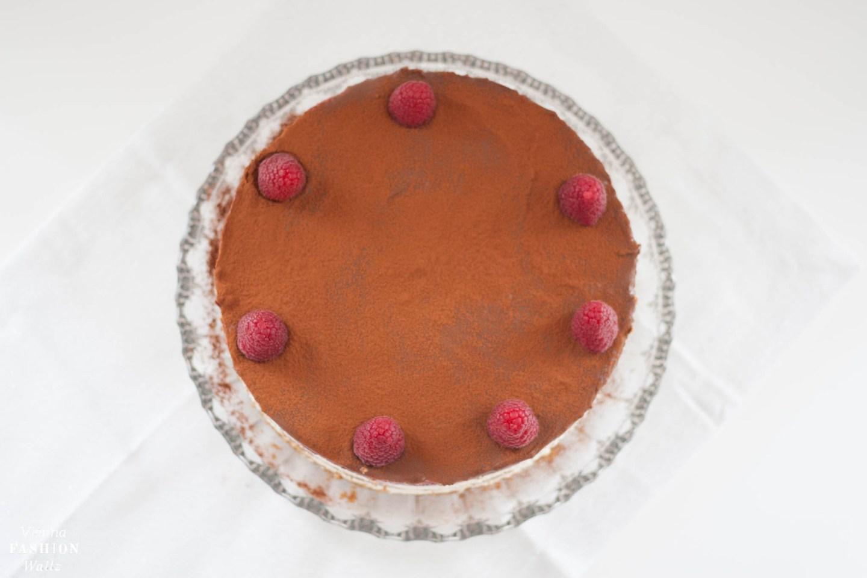 Himbeer-Mascarpone Naked Cake
