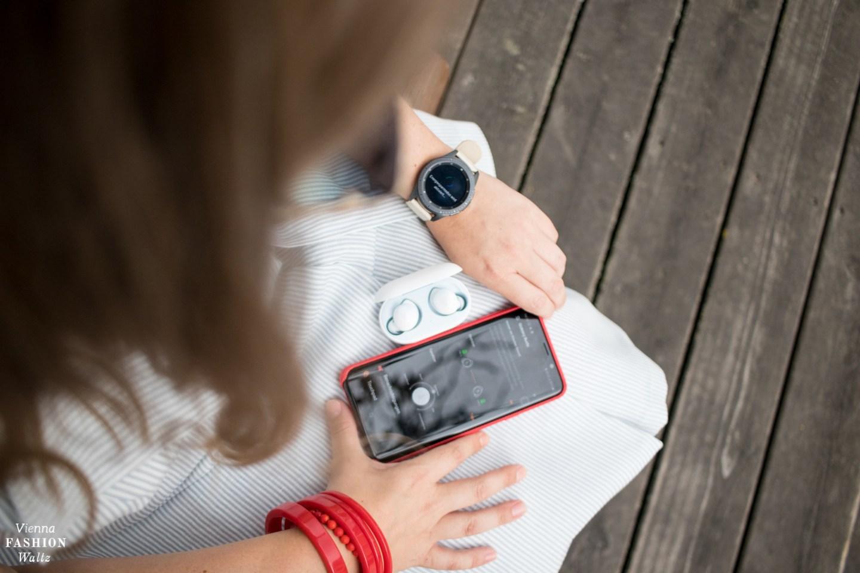 Samsung Galaxy Buds verbinden mit Smartphone oder galaxy watch