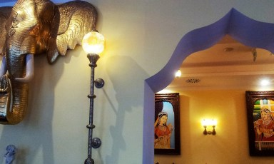 The art and folklore on the walls