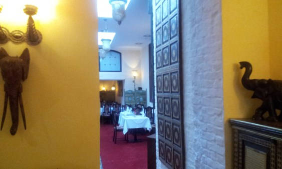 The view into the rear dining room..this place is huge