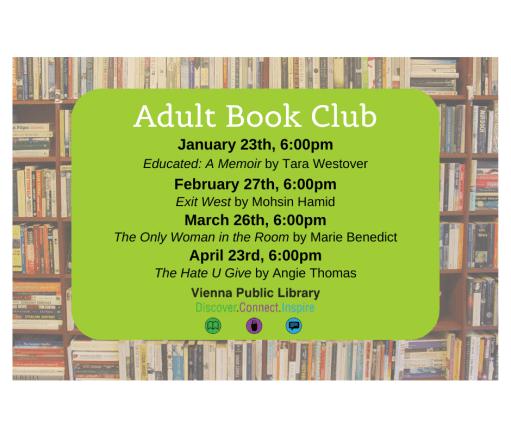 Adult Book Club 2020
