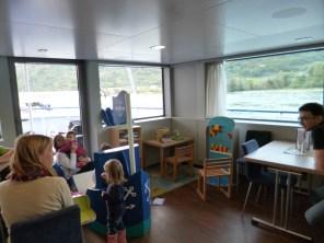 Play corner on ship