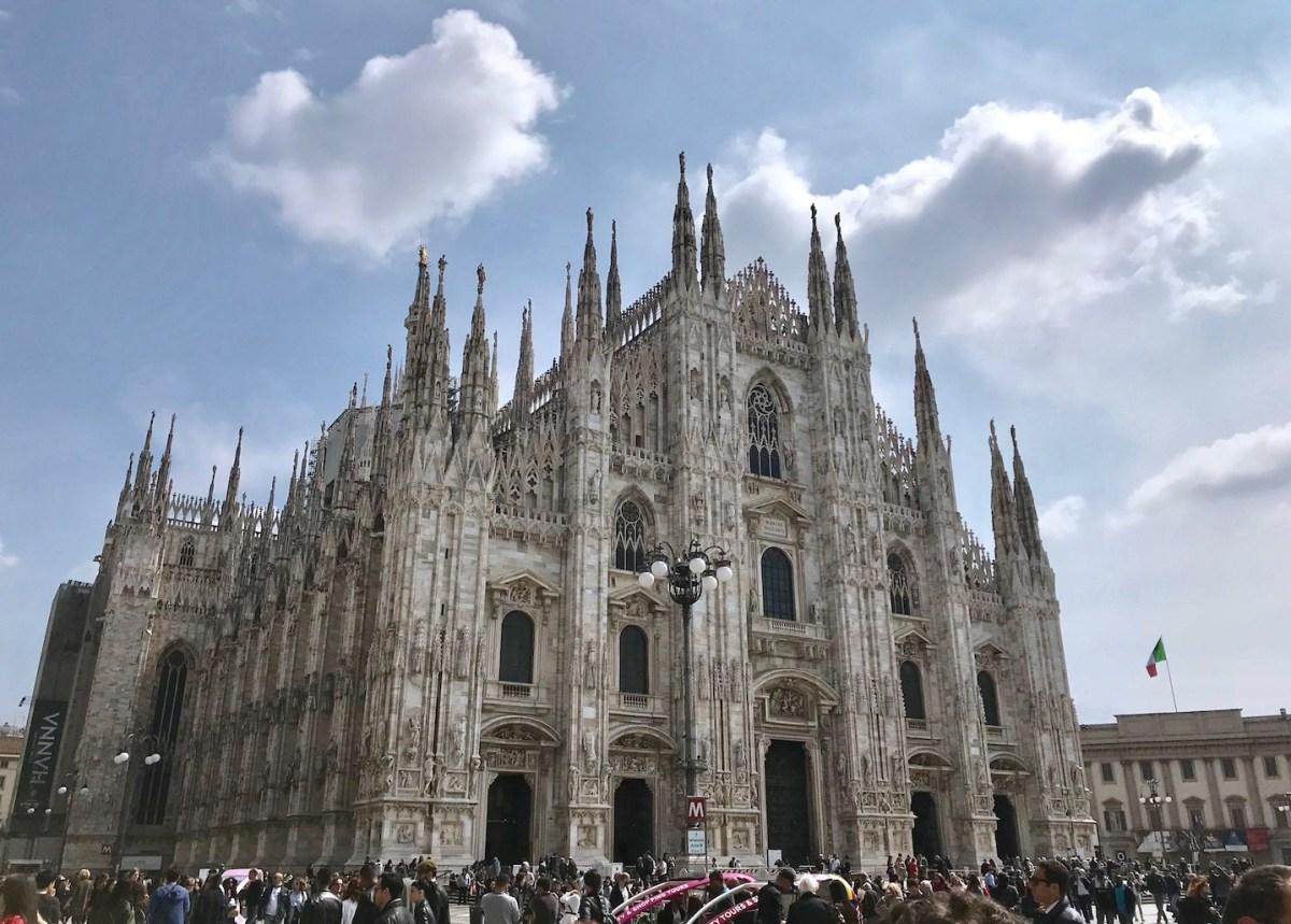 Ein Kurztrip in die Modestadt Mailand - 1st Day