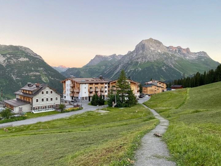 Alpenbaden im Hotel Goldener Berg