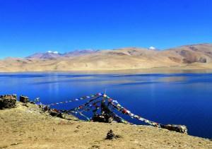 Ladakh lac de montagne