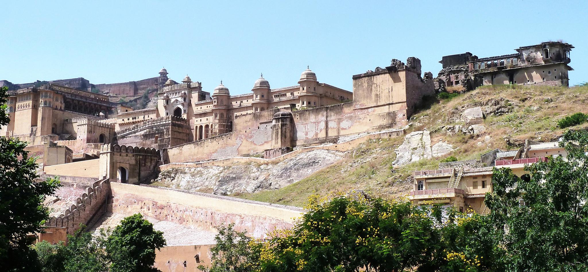 Amber fort près d'Agra