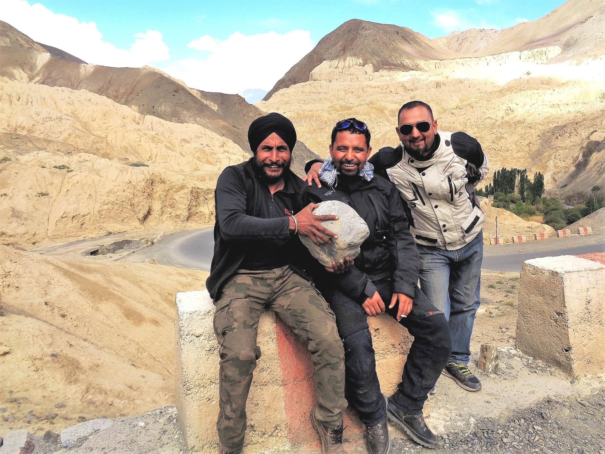 Accompagnateurs moto au Ladakh