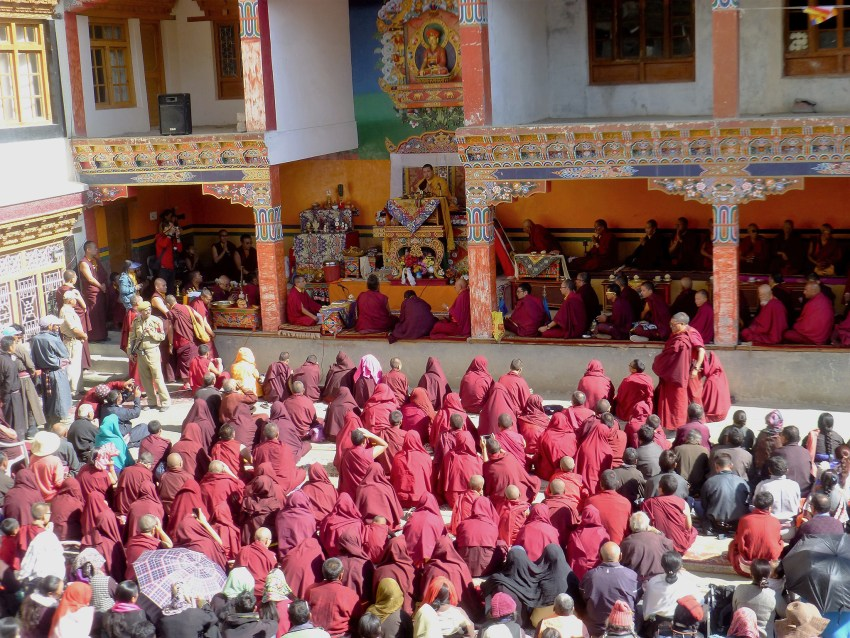 Fête religieuse à Lamayuru