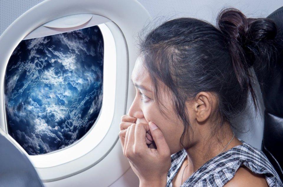 Dépasser sa peur de l'avion.