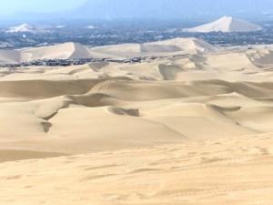 paysage de dunes Huacachina Pérou