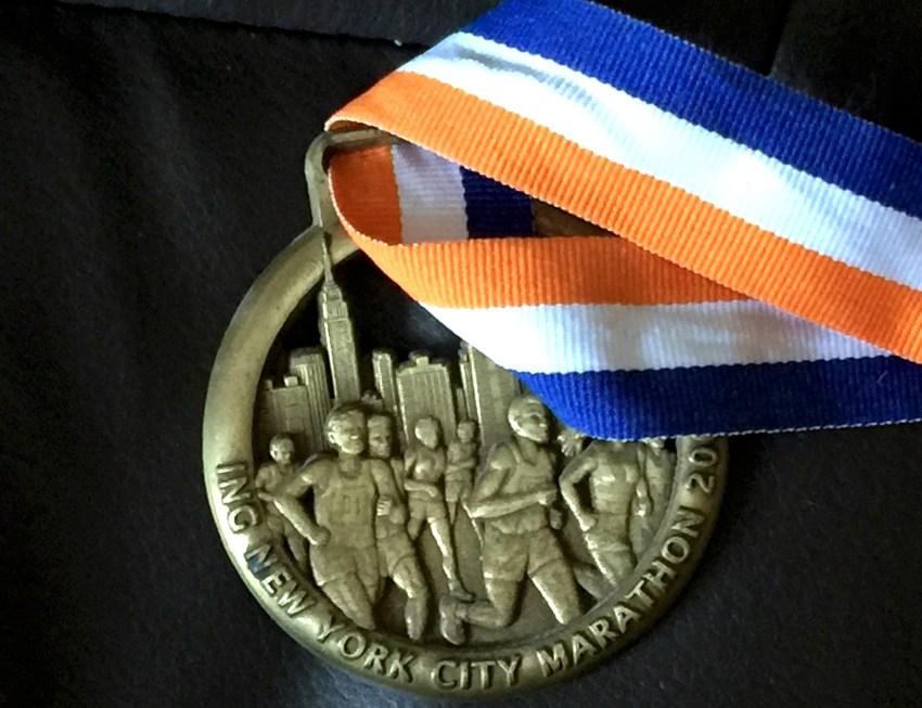 Médaille marathon NYC