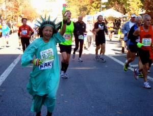 marathon new york déguisement