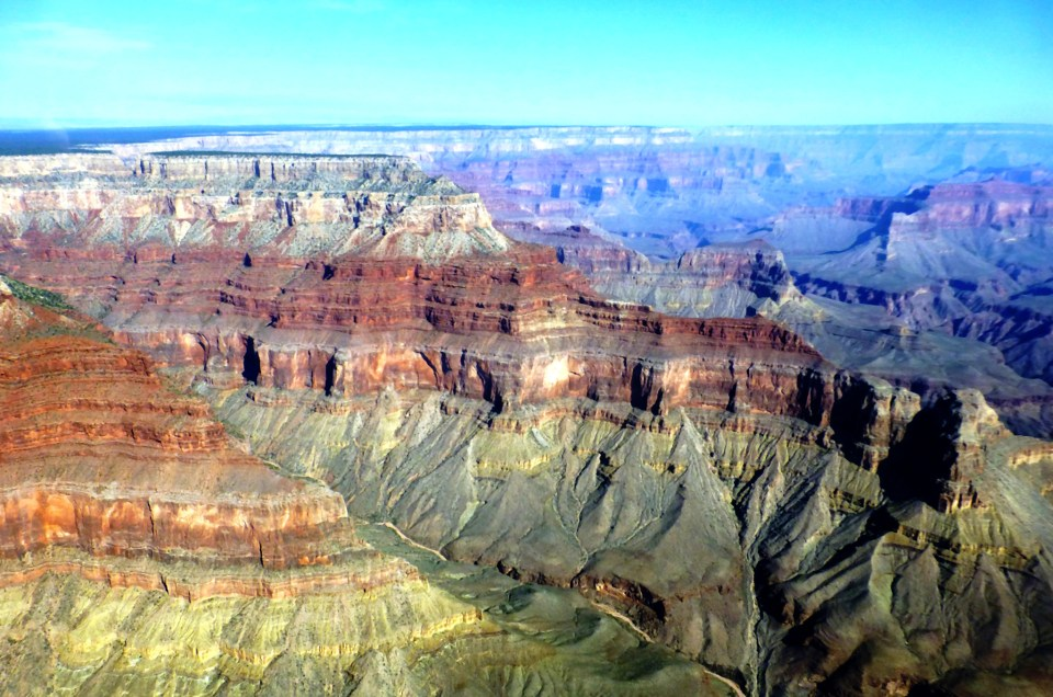Le Grand Canyon vu du ciel : un moment fort
