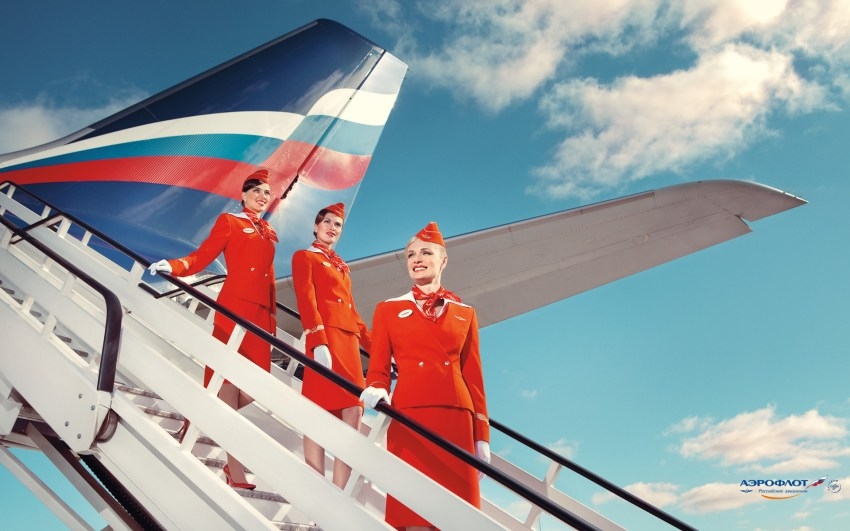 flight attendant aeroflot