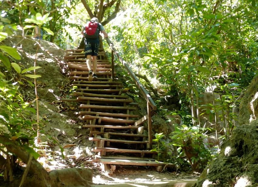 Erawan escaliers