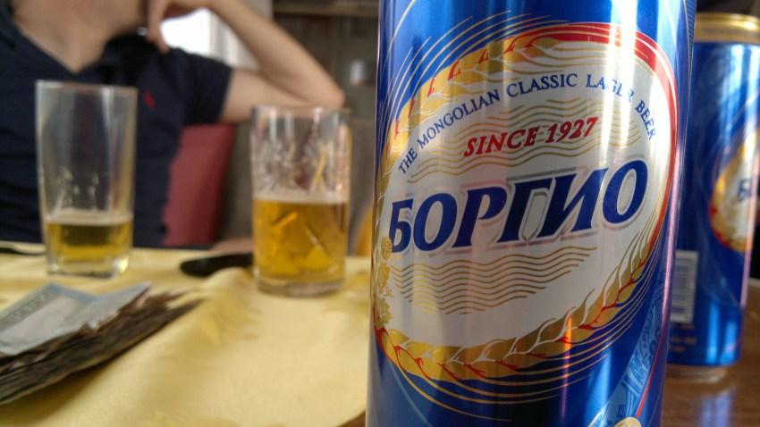 mongolie bière