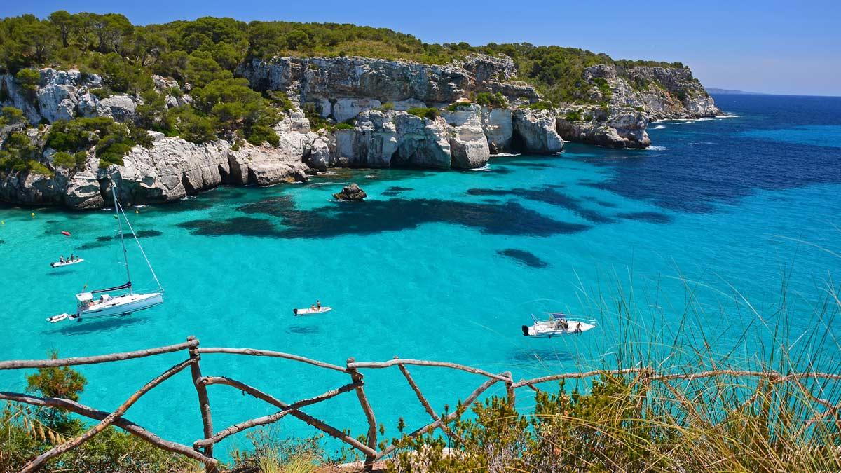 Travesia por Menorca, la isla turquesa