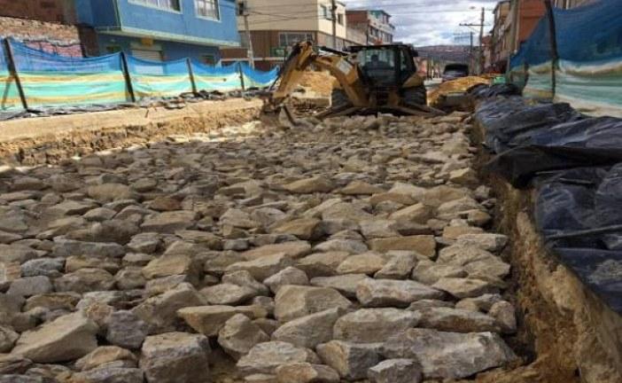 Unidad de Mantenimiento Vial intervino vía en barrio de Tunjuelito