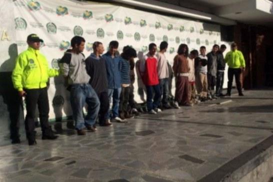 Capturan a 'Los Sayayines', la banda más peligrosa del centro de Bogotá