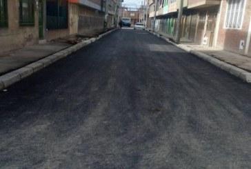 En barrio Danubio Azul de Bosa, la UMV finalizó rehabilitación de tramo vial