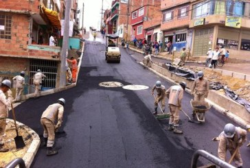 Intervención de dos segmentos viales activa conexión de dos barrios de Ciudad Bolívar