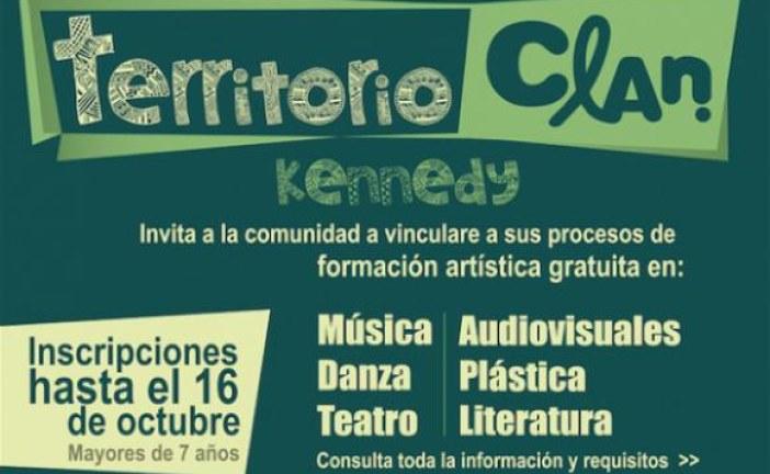Formación artística gratuita para habitantes de la localidad de Kennedy