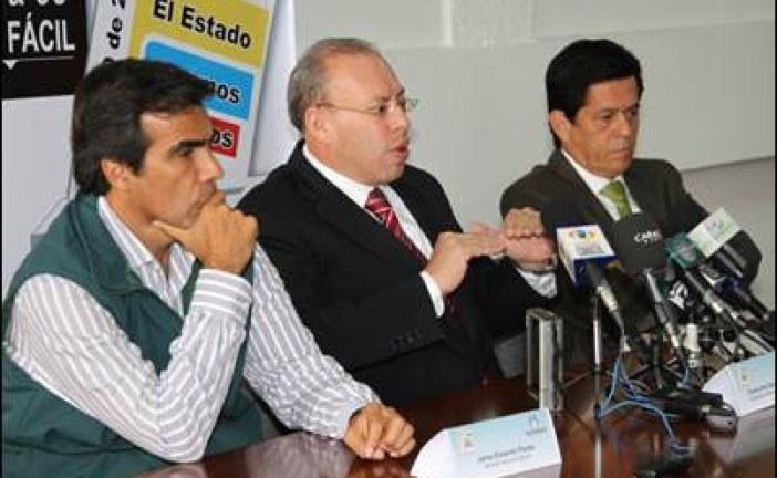 Rueda de prensa sobre el desarrollo de las elecciones del 25 de octubre