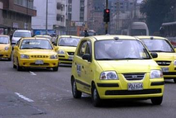 Protesta de taxistas en contra de UBER