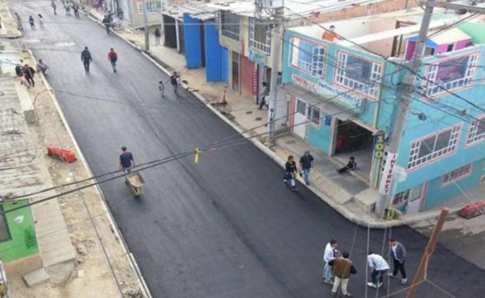Nuevas vías en Ciudad Bolívar