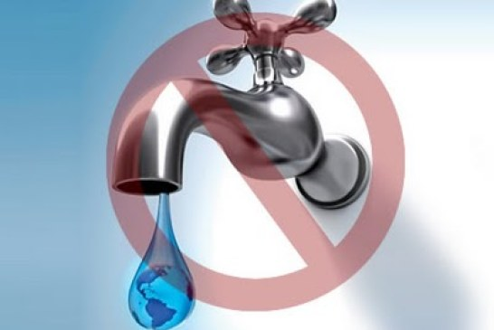 Cortes de agua por 24 horas en la localidad de Ciudad Bolívar