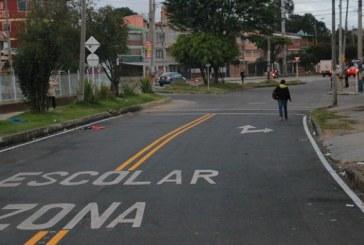 Barrio Eduardo Frei en la localidad de Antonio Nariño, rehabilitado en su malla vial