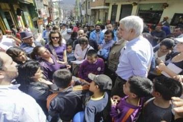 Enrique Peñalosa asegura que hay una grave crisis de criminalidad juvenil al visitar la localidad de Usme