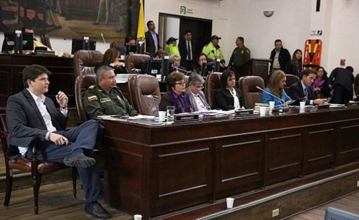 Distrito presentó el proyecto para crear la Secretaría de Seguridad, Convivencia y Justicia