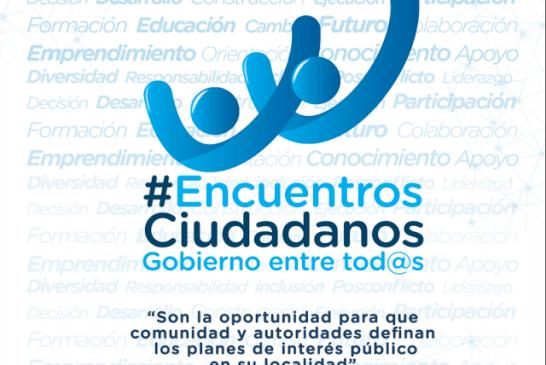 Encuentros ciudadanos en la localidad de Rafael Uribe Uribe