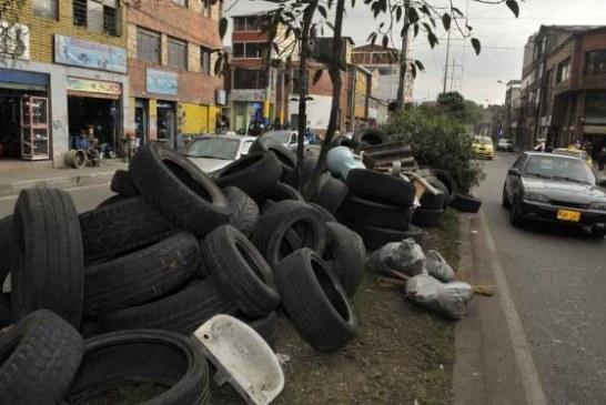 Llantas usadas en Bogotá serán utilizadas como combustible alternativo