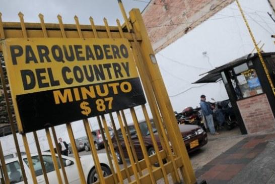 Retiran propuesta para cobrar sobretasa de parqueaderos en Bogotá