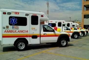 Casi 90 ambulancias salieron de circulación en Bogotá