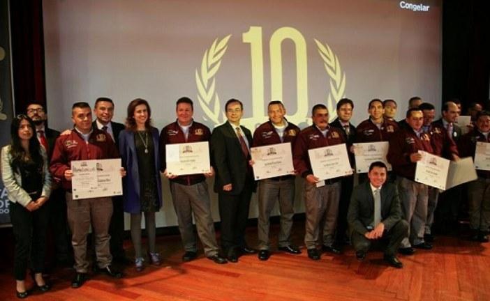 Transmilenio premió a sus mejores conductores