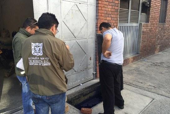 Selladas seis empresas por contaminar el aire de Bogotá