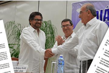 Comunicado conjunto número 5 y enlace del texto final del nuevo acuerdo de paz