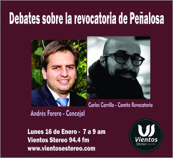 Debates revocatoria de Peñalosa
