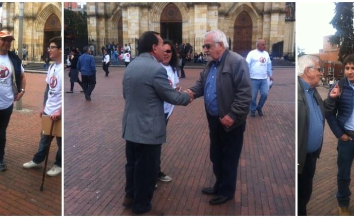Navas Talero sale a recoger firmas para revocar a Peñalosa