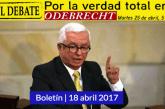 Senador Robledo denunciará penalmente a Néstor Humberto Martínez y Luis Fernando Andrade (ANI) por sus presuntos delitos en caso Odebrecht