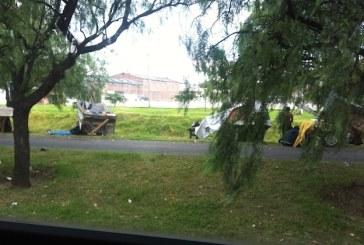 Los habitantes de la calle se apoderaron de la Avenida de Los Comuneros