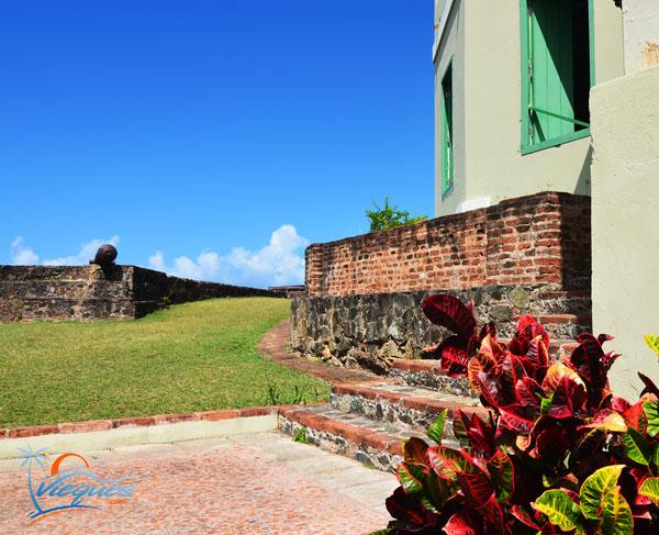 Vieques Fort Fortin Conde De Mirasol HIstoric Attractions