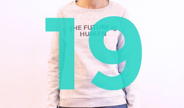 """Adventskalender – Tag 19: Ein """"The Future Is Human""""-Pulli von The Lovers"""