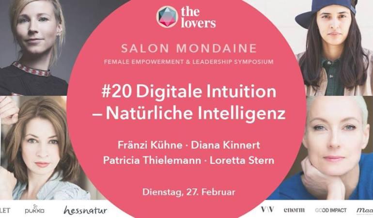 """Digitale Intuition – Natürliche Intelligenz: Wir verlosen 2 x 2 Karten für den """"Salon Mondaine"""" in Berlin"""