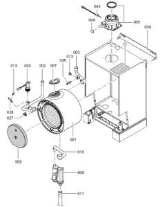 7416304 Vitodens 100-W WB1B 26kW Compact Boiler